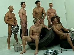 Huge orgies